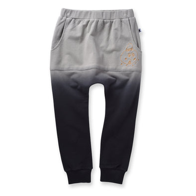 Minti Scribble Man Pouch Trackies Stone  *#