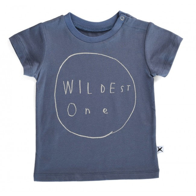 Minti Baby Domed Tee Wildest One Midnight*