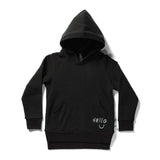 Minti Toasty Hood Hello Furry Black #