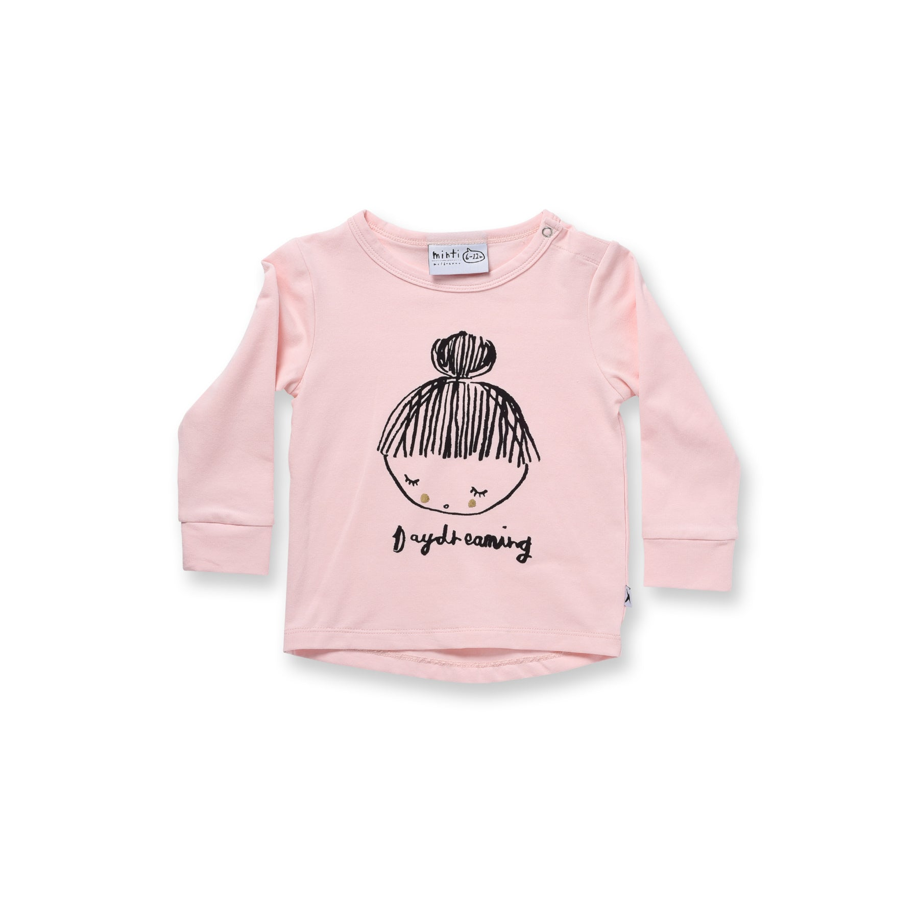 Minti Baby Day Dreaming Drop Tee Ballet *#