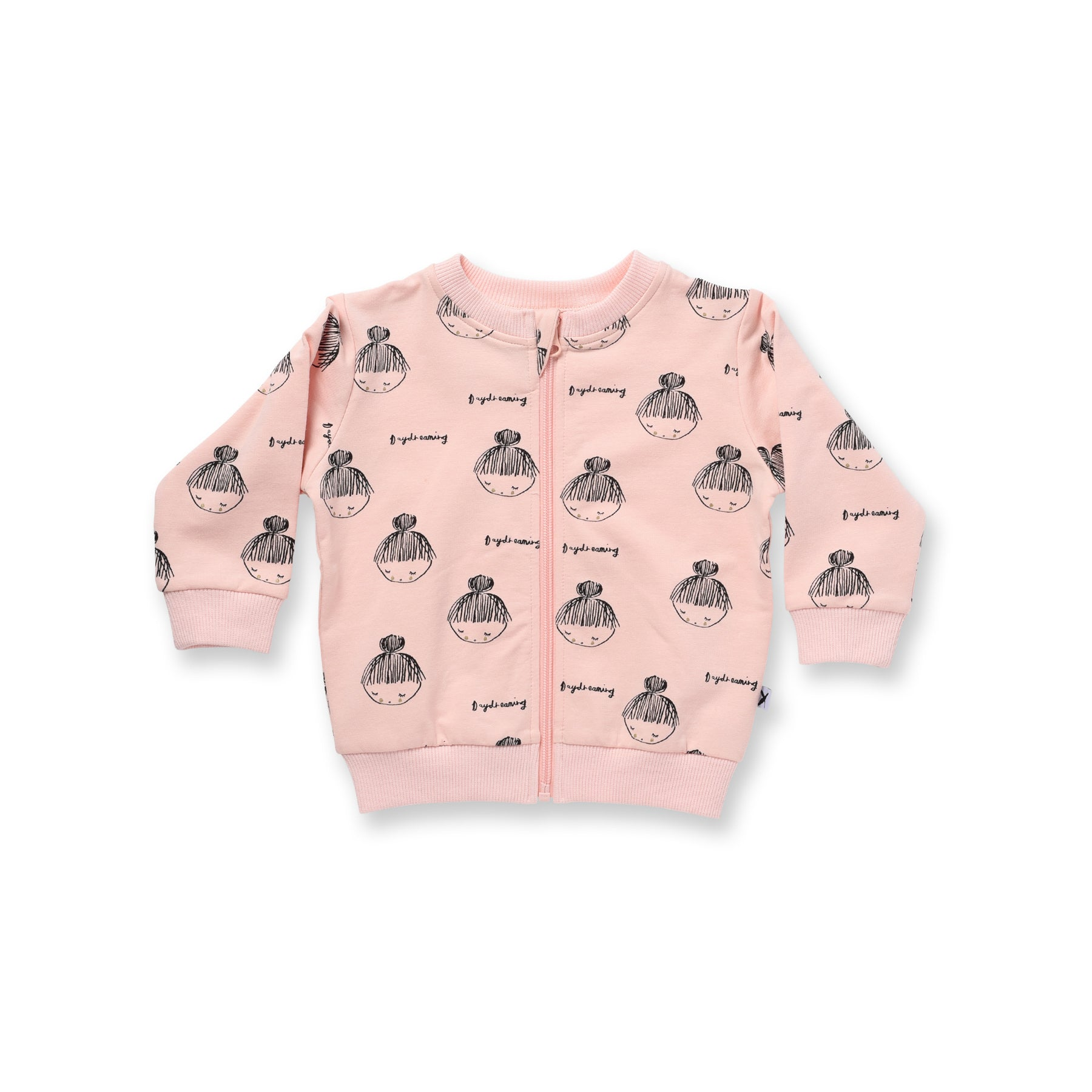 Minti Baby Day Dreaming Zip Up Crew Ballet *#
