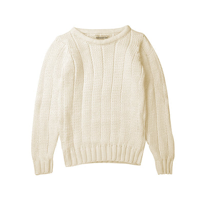 Minouche Rib Sweater Cream #