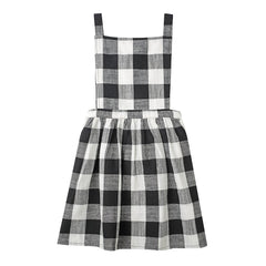 Minouche Pinafore Matilda Black/White Check