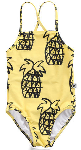 Minti 1 Piece Swimsuit Pineapple Yardage*