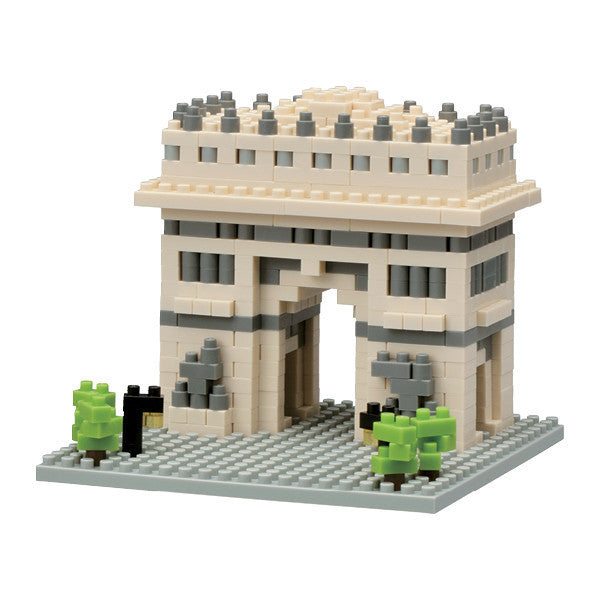 Nanoblock Small Box Set Arc de Triomphe