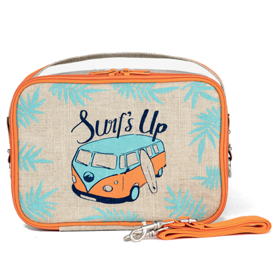 So Young Yumbox Lunchbag Orange Surf's Up