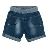 Fox & Finch French Terry Denim Shorts