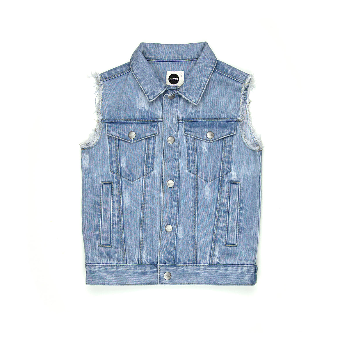 Sudo Bodhi Denim Vest Coast #
