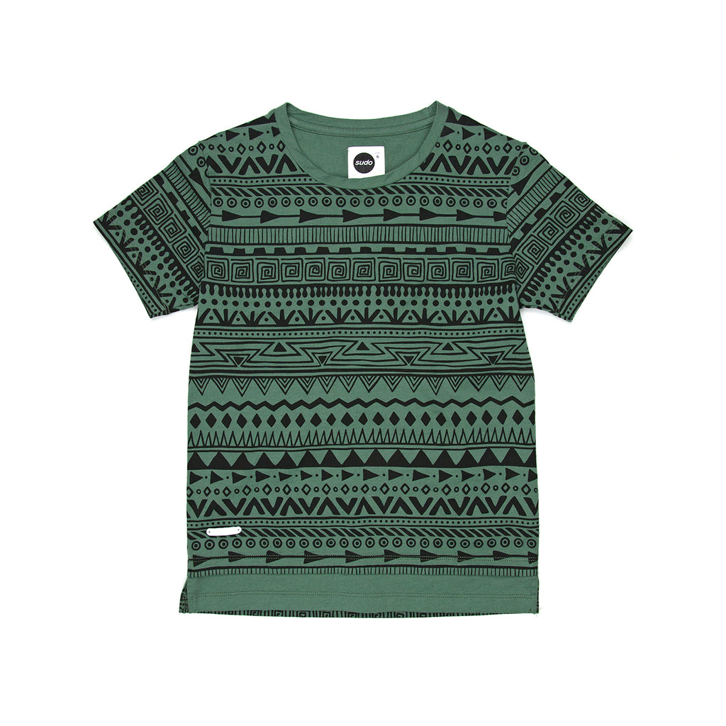 Sudo S/S Tee Tribal Pine