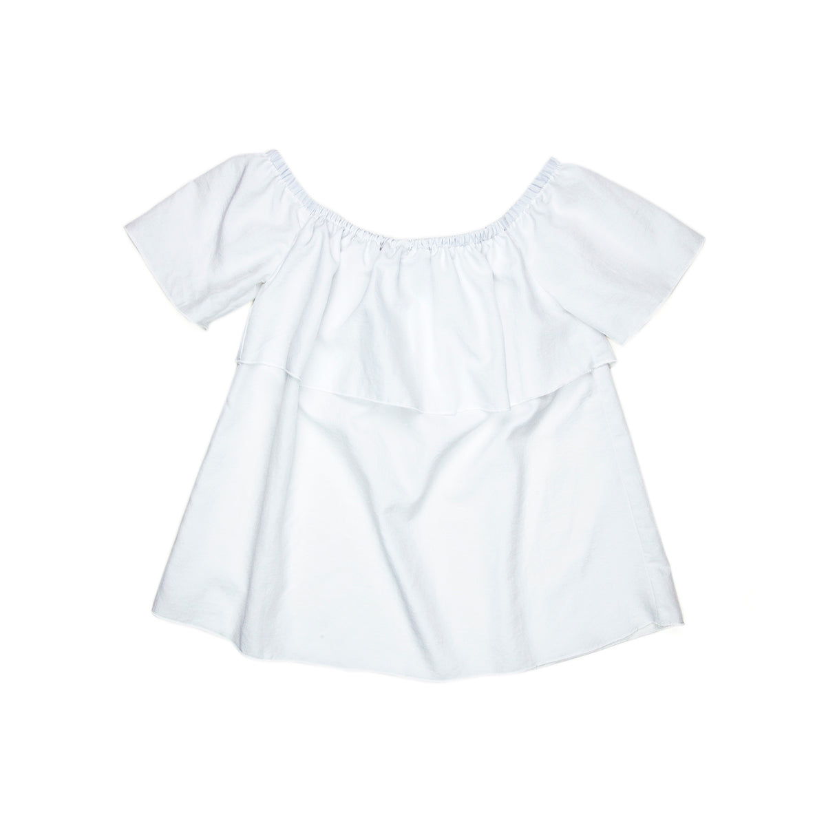 Sudo Isla Top Off Shoulder Crisp White *