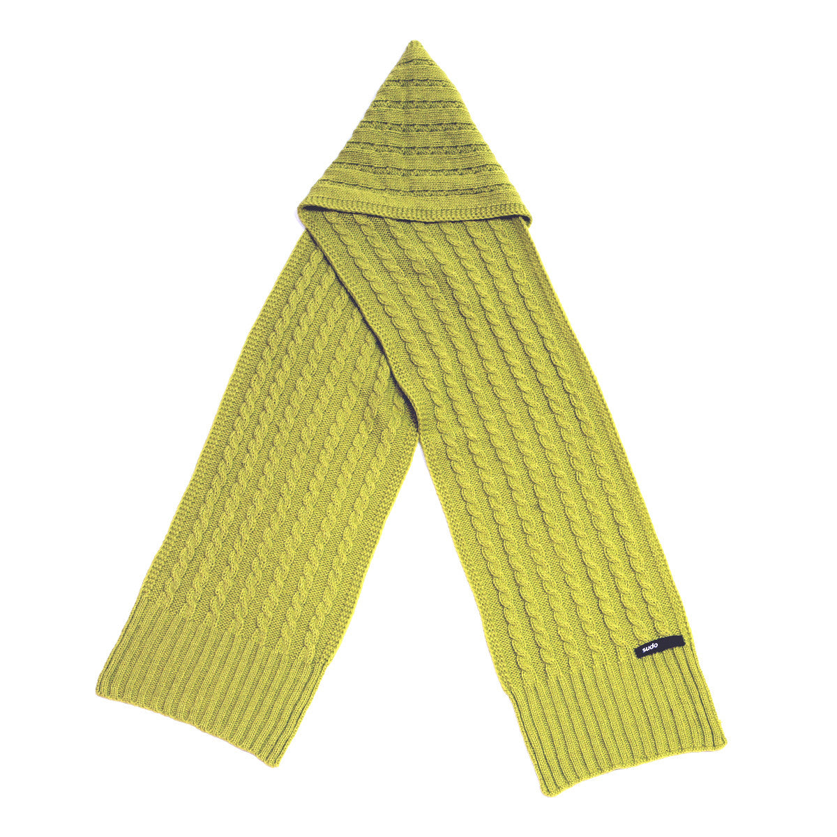 Sudo Step Up Scarf Chartreuse*#