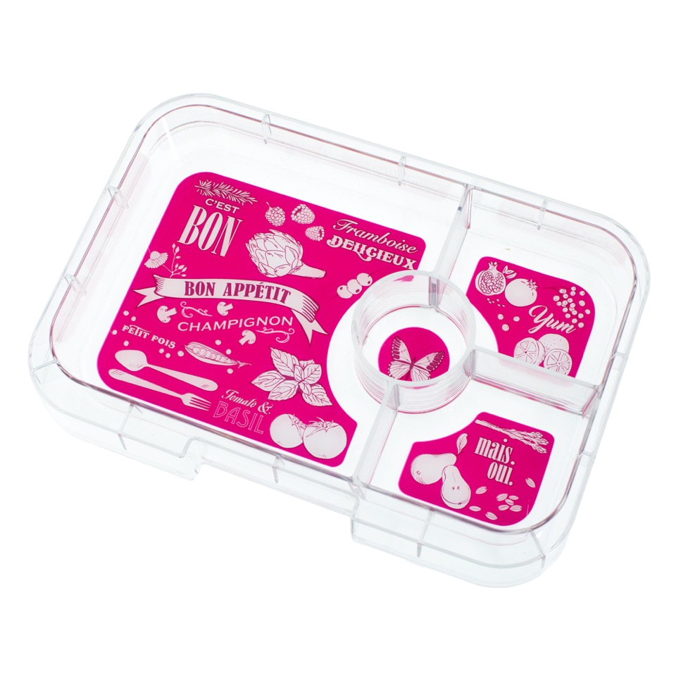 Yumbox Tapas Interchangeable Tray 4 Compartment