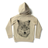 Littlehorn Zip Through Wolf Pack Beige #