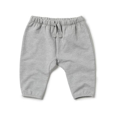 Wilson & Frenchy Grey Melange Slouch Pant # *