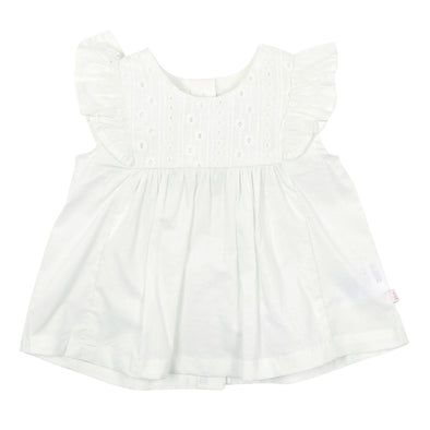 Bebe Baby Kitty Top with Broderie Detail Cloud ^