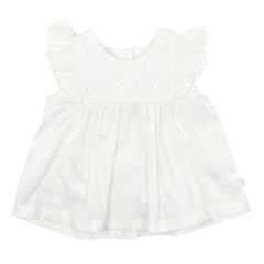 Bebe Baby Kitty Top with Broderie Detail Cloud