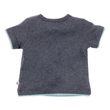 Bebe Hank Night Sky Tee Dark Grey