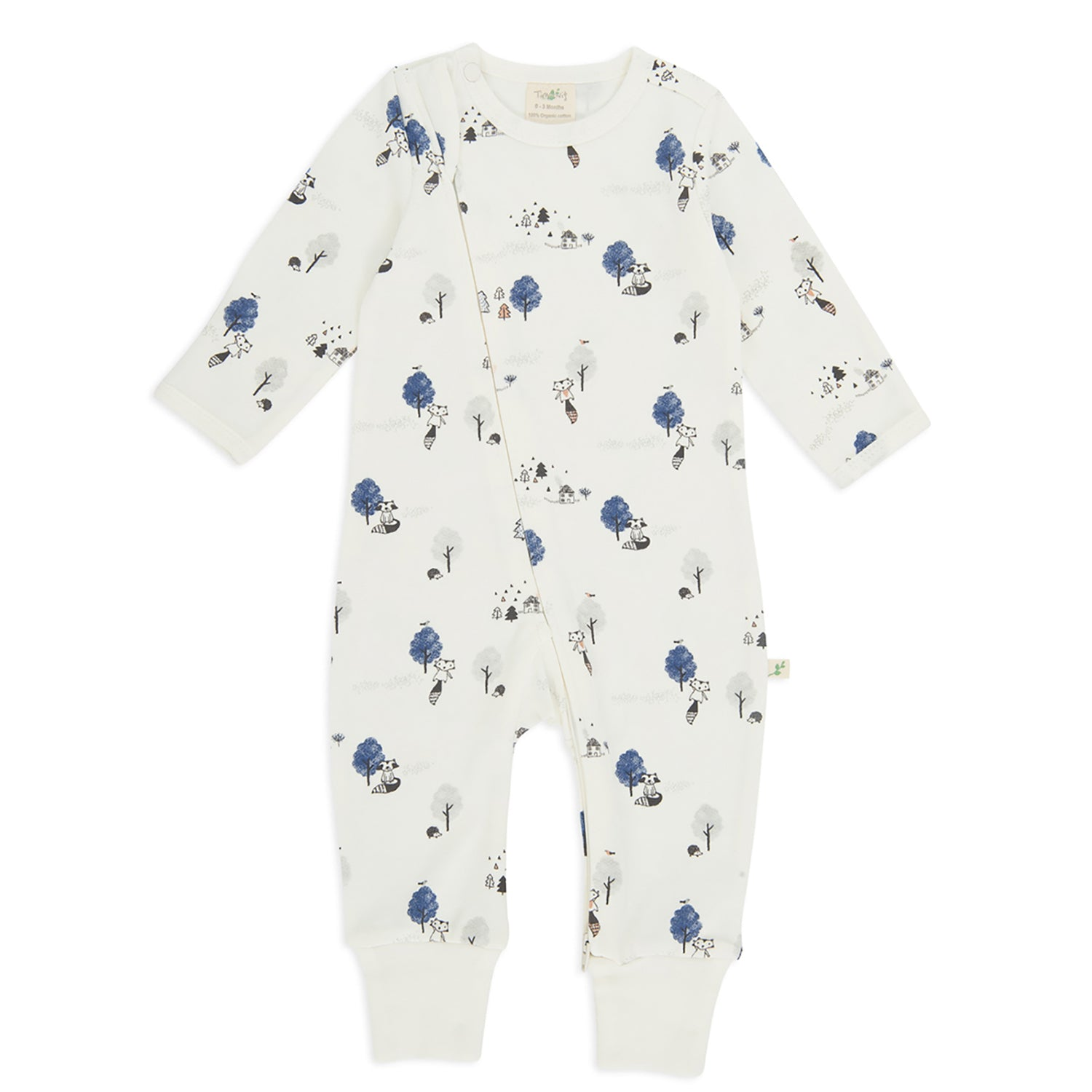 Tiny Twig Mountain Yurt Zipsuit L/S #