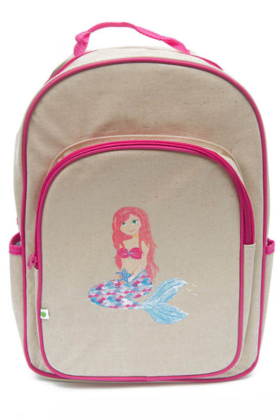Apple & Mint Big Kid Backpack Mermaid