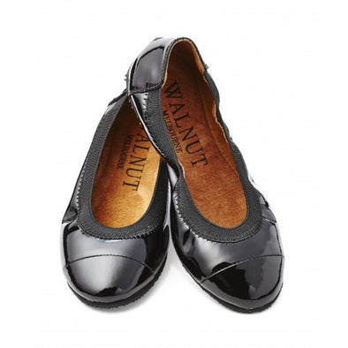 Walnut Ava Ballet Patent Black *
