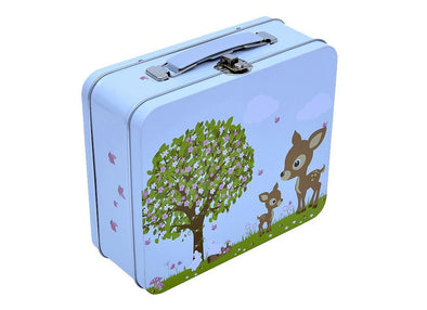 Bobble Art Tin Suitcase Woodland Animals