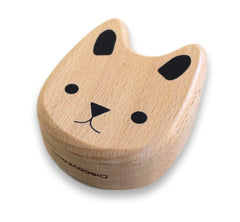 Discoveroo Wooden Bunny Rattle