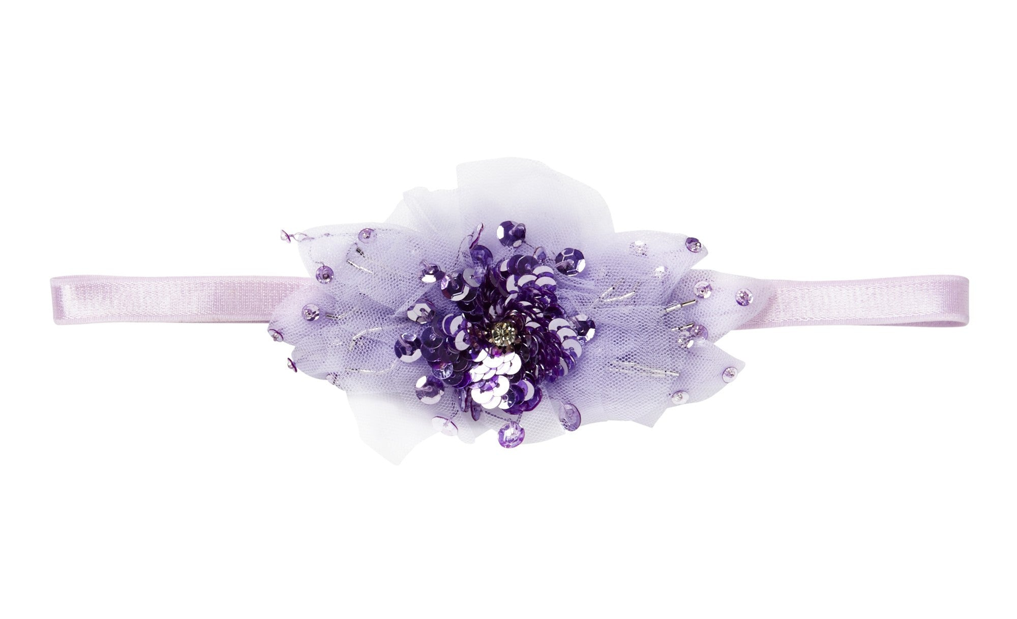 Tutu Du Monde Blushing Violet Headband Purple Moon