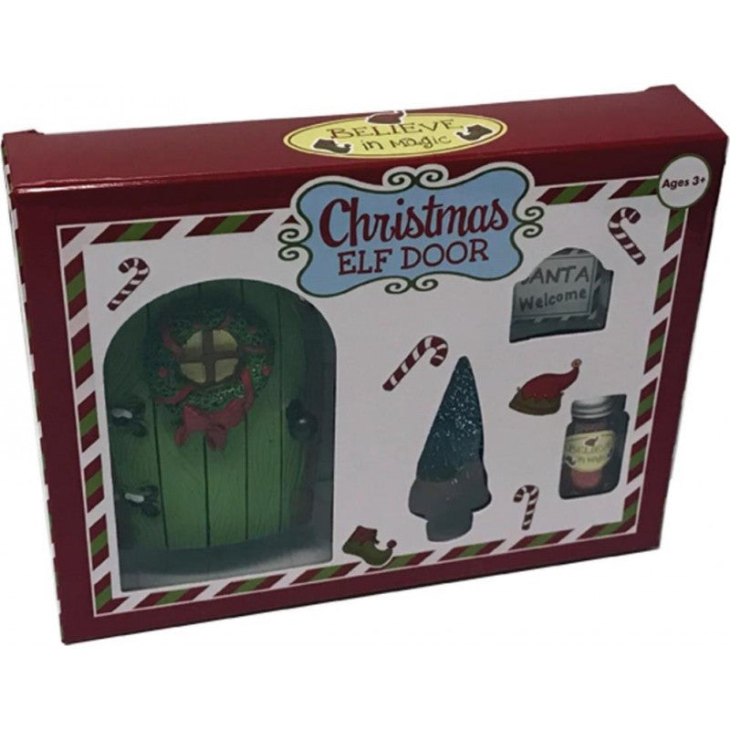 Christmas Elf Door Set