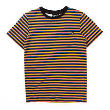 Alphabet Soup Tee Stripe Multi *
