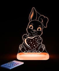 Aloka LED Sleepy Light - Bunny Rabbit - USB