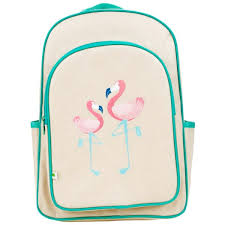 Apple & Mint Big Kid Backpack Flamingo