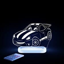 Aloka LED Sleepy Light - Race Car - Dual Powered