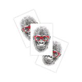 Ducky Street Temporary Tattoos Gorilla 3pk