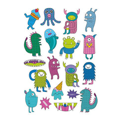 Ducky Street Temporary Tattoos Trendy Monsters