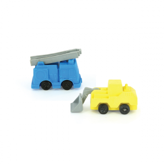 Erasables Eraser Set Small - Trucks