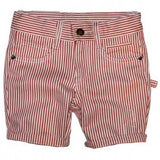 Rock Your Kid Shorts Gatsby Red Pinstripe *