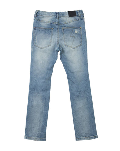 Alphabet Soup Jean Idaho Blue Wash *