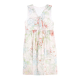 Minouche Lila Dress Floral Cotton Voile