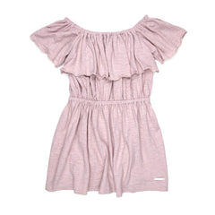 Sudo Ruffle Dress Lily Rose Blush