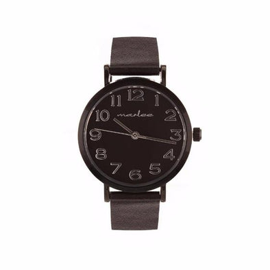 Marlee Watch Minimalist Black
