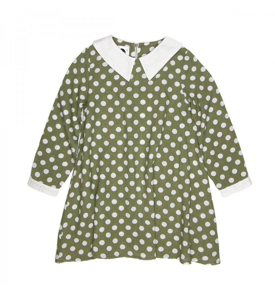 Sudo Dress Secret Garden Polkadot Green