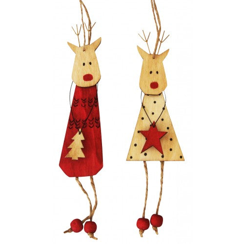 Urban Products Hanging Reindeer Natural