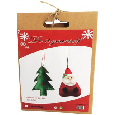 Urban Products DIY Santa & Tree Deco Felt Kit
