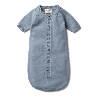 Wilson & Frenchy Dusty Blue Cocoon Sleeper*#