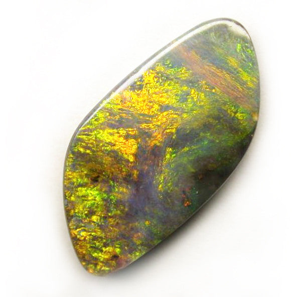 Orange/Green/Gold Boulder Opal