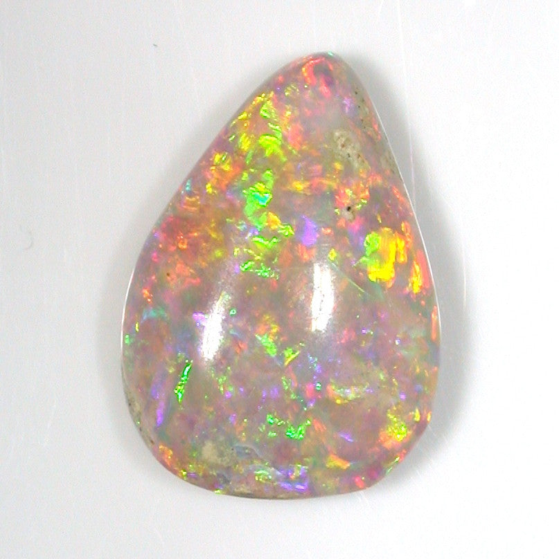 Bright pink, gold and Green,Solid Crystal Boulder Opal