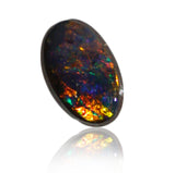Orange Multi Colour Boulder Opal