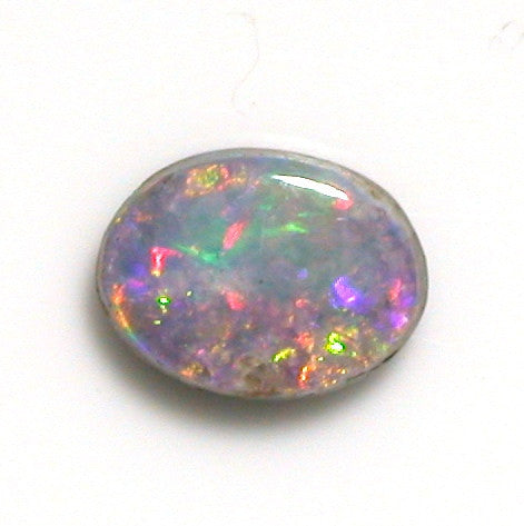 Bright pink multi-coloured solid boulder opal from quilpie