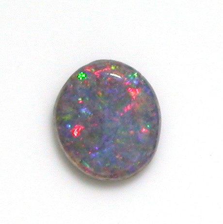 Pink and green solid boulder opal