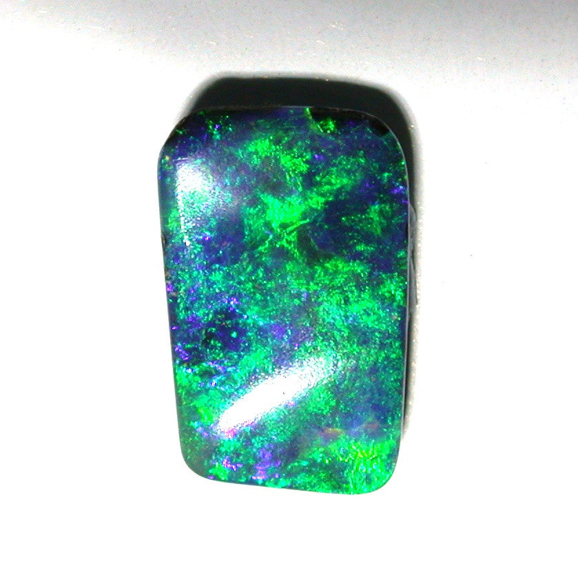 Green and Blue solid boulder opal
